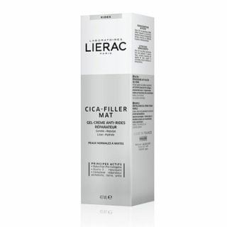 Lierac Cica-Filler Mat Anti-Wrinkle Repairing Cream-Gel 40ml