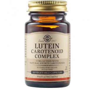Solgar Lutein Lycopene Carotene Complex 30 Veg. Caps