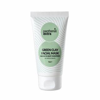 Panthenol Extra Green Clay Facial Mask 75ml
