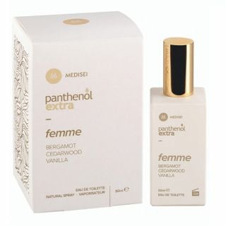 Panthenol Extra Femme Bergamot Cedarwood Vanilla Eau de Toilette 50ml