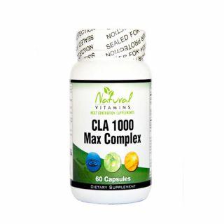 Natural Vitamins CLA 100 Max Complex 60 Caps