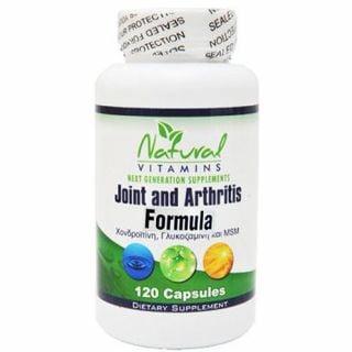 Natural Vitamins Joint and Arthritis Formula 120 Caps