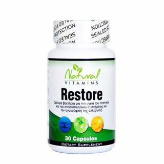 Natural Vitamins Restore 30 Caps