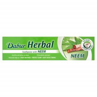 Dabur Herbal Toothpaste Φυτική Αγιουρβεδική Οδοντόκρεμα Neem 100ml