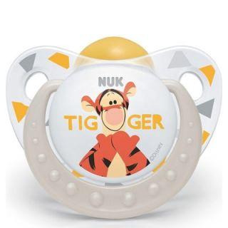 Nuk Trendline Disney Tiger Pacifier White Grey 1