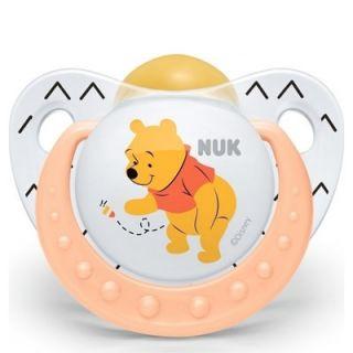 Nuk Trendline Disney Winnie Pacifier Orange 1
