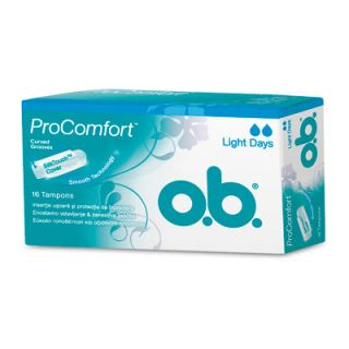 O.b. Procomfort Light Days 16