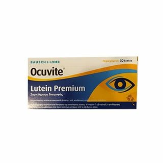 Bausch And Lomb Ocuvite Lutein Premium 30 Tabs