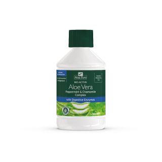 Optima Aloe Vera Juice Pepermint & Chamomile 500ml