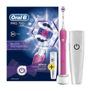 Oral-B Pro 750 3D White Pink