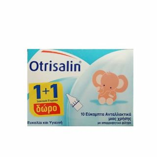 Otrisalin Aspirator Refils Soft Nasal Offer