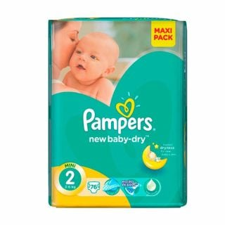 Pampers Active Baby Dry Mini No2 (3 - 6kg) 76