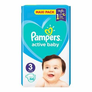 Pampers Active Baby No3 (6 - 10kg) 66