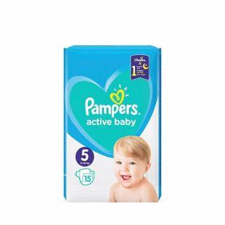 Pampers Active Baby No5 (11 - 16kg) 15