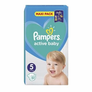 Pampers Active Baby Giant Pack No5 (11 - 16kg) 51
