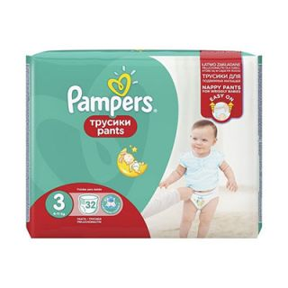 Pampers Pants Midi No3 (6 - 11kg) 32
