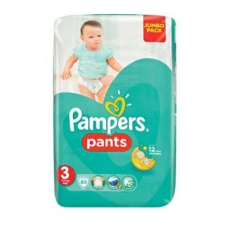 Pampers Pants Midi No3 (6 - 11kg) 60