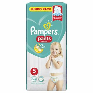 Pampers Pants Junior No5 (12 - 18kg) 48