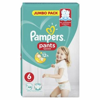 Pampers Pants Extra Large No6 (15+ kg) 44