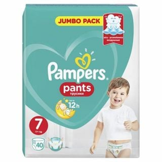 Pampers Pants No7 (17+ kg) 40