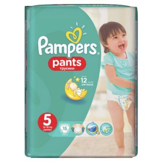 Pampers Pants Junior No5 (12 - 18kg) 15