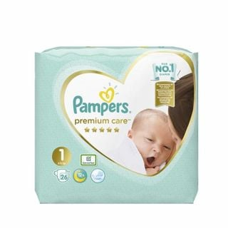 Pampers Premium Care Newborn No1 (2 - 5kg) 26