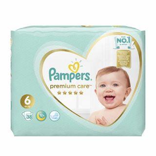 Pampers Premium Care Junior No6 (13+ kg) 38