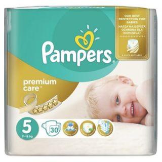 Pampers Premium Care Junior No5 (11 - 18kg) 30