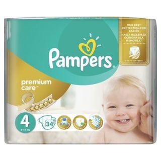 Pampers Premium Care Maxi No4 (8 - 14kg) 34