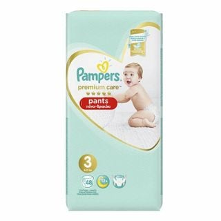 Pampers Premium Care Pants No3 (6-11 kg) 48
