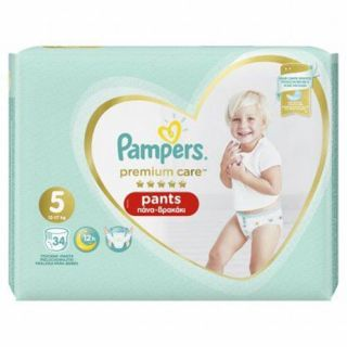 Pampers Premium Care Pants No5 (12-17 kg) 34