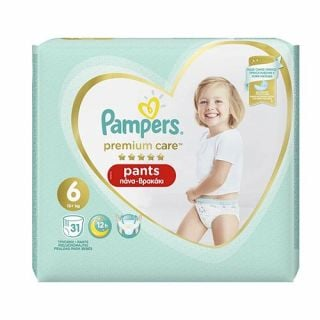 Pampers Premium Care Pants No6 (15+ kg) 31
