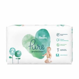 Pampers Pure Protection No2 (4 - 8kg) 39