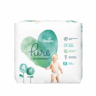 Pampers Pure Protection No4 (9 - 14kg) 28