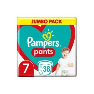 Pampers Pants No7 (17+ kg) 38 Τεμάχια