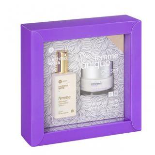 Panthenol Extra Femme Bergamot Cedarwood Vanilla Eau de Toilette 50ml + Face and Eye Cream 50ml