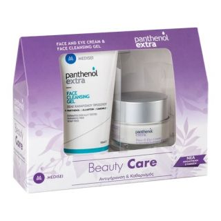 Panthenol Extra Face and Eye Cream 50ml + Cleansing Gel 150ml