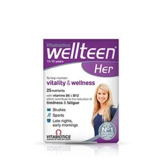 Vitabiotics Wellteen HER 30 Tabs