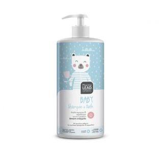 Pharmalead Baby Shampoo & Bath 1Lt Απαλό Βρεφικό Σαμποάν & Αφρόλουτρο