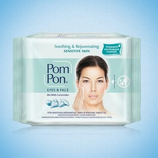 Pom Pon Sensitive Skin Cleansing Wipes 20 Items