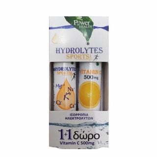 Power Health Hydrolytes Sports 20 Tabs + Vitamin C