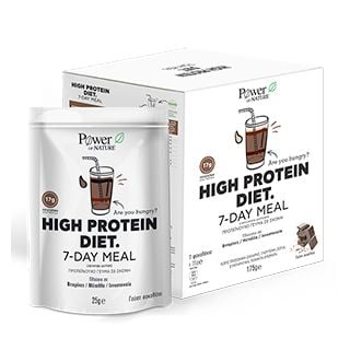 Power Health Power Of Nature High Protein Diet 7 Day Meal 7 x 25gr Πρωτεϊνούχο Γεύμα σε Σκόνη