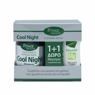 Power Health Classics Platinum Range Cool Night 30 Caps + Magnesium 10