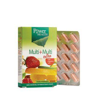 Power Health Multi+Multi Extra