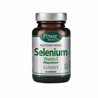 Power Health Classics Platinum Selenium & Vitamin E 30 Caps