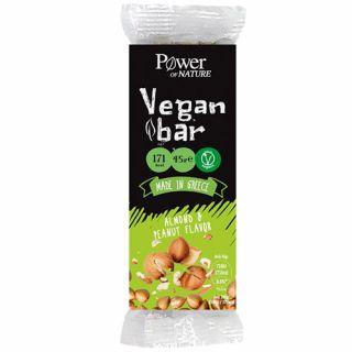 Power Health Vegan Bar Almond & Peanut Flavor 45gr