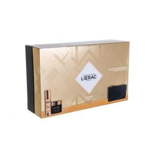 Lierac Premium La Cure Absolute Anti-Aging 30ml Μεταξένια Κρέμα Απόλυτης Αντιγήρανσης + Creme Soyeuse 50ml Κρέμα Αντιγήρανσης + Rue Des Fleurs-Monaco Pouch