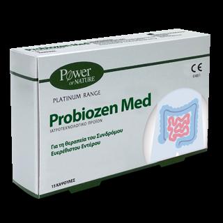 Power Health Platinum Range Probiozen Med 15 Κάψουλες Συμπλήρωμα Διατροφής για το Συνδρόμου Ευερέθιστου Εντέρου