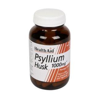 Health Aid Psyllium Husk 60 Vecaps Υπακτικό