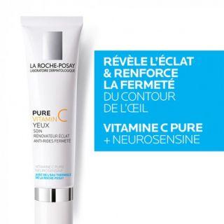 La Roche Posay Redermic C Yeux 15ml Αντιγηραντική Κρέμα για τα Μάτια